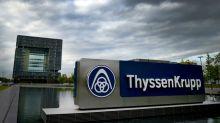 Thyssen-Krupp schließt betriebsbedingte Kündigungen für Stahlkocher vorerst aus