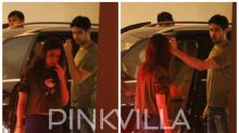 Alia Bhatt and Sidharth Malhotra get clicked in a candid conversation