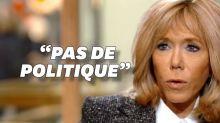 Brigitte Macron dit qu'elle ne fait pas de politique mais c'est plus compliqué