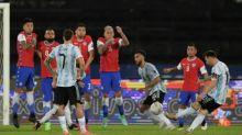 Gol Indah Messi Sia-sia Usai Timnas Argentina Ditahan Chile