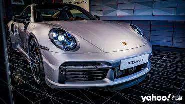 量產公路蛙王台灣首現!Porsche 911 Turbo S領銜新竹概念店開幕!