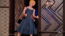 Here's your first sneak peek at The Bachelorette , and yes, that's a blow-up doll