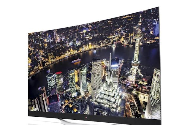 LG's first 4K OLED TV comes to the US next month for $10k