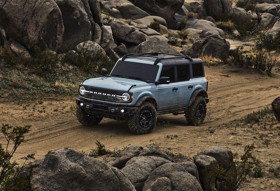 <p>We're especially into the fender flares and brutish front bumper. Paired with those massive tires, it all works perfectly. </p>