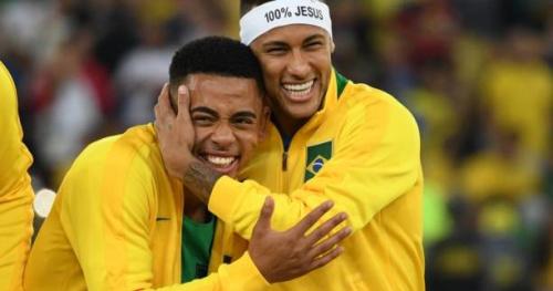 Foot - ANG - City - Manchester City : Neymar est allé voir Gabriel Jesus à l'hôpital