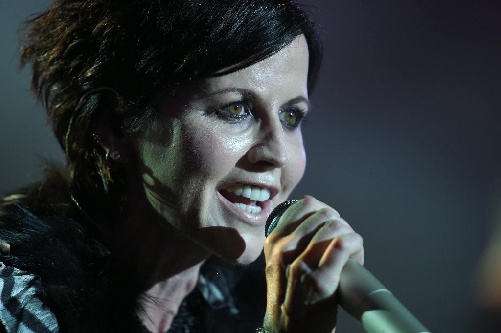 Dolores O'Riordan, seen here performing in 2016, enjoyed international success with The Cranberries (AFP Photo/GUILLAUME SOUVANT)