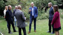 Prince William Visits Homeless Support Facility to Learn About Their Efforts During COVID-19