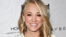 You've Got to See What Kaley Cuoco Looks Like With Silver Hair