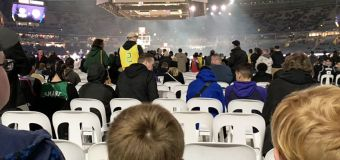 'What a stitch up': Fans fume over seating fiasco