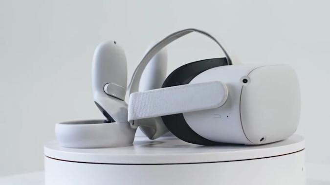Facebook leaks its Oculus Quest 2 standalone VR headset