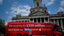 Brexit 'pledge' of £350m for the health service must be honoured, says NHS chief