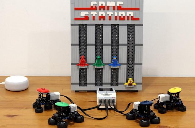 Alexa-powered Lego challenge winners include a game system and waffle iron