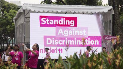 80% of S'poreans say LGBTQ folks face discrimination