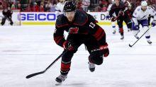 Oilers land Warren Foegele from Hurricanes in exchange for Ethan Bear