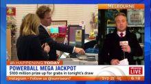 $100 million Powerball mega jackpot
