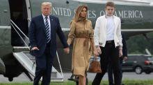 Le fils de Donald et Melania Trump a lui aussi été testé positif au Covid-19