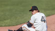 Giants play very poorly, resulting in a very poor outcome