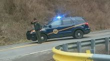 Photo of West Virginia state trooper saluting funeral procession goes viral