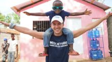 WestJetters come together to build five more homes for families in Dominican Republic
