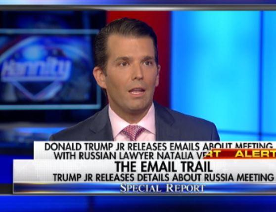 Donald trump jr now says he took russian meeting to determine hillary clinton s fitness for - When did clinton take office ...