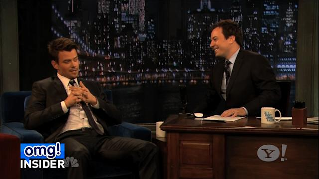 Josh Duhamel and Jimmy Fallon Battle in Sexy Dance-Off