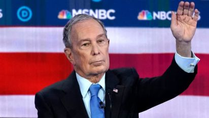 Bloomberg dismisses past crude comments as 'a joke'