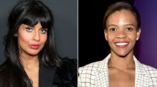 Jameela Jamil Cancels Candace Owens' Podcast Appearance After Tweet About Trans Man Giving Birth