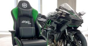 盡享飆速快感!KAWASAKI推出「Ninja H2電競椅」
