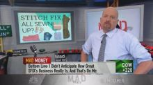 Cramer's new call on Stitch Fix: Seize on pullbacks in this soaring stock