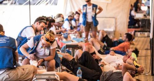 Marathon des Sables - Sur le Marathon des Sables, « 90% des soins sont dédiés aux pieds »