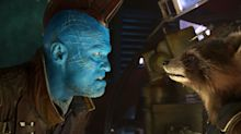 Guardian 2's Michael Rooker had to paint his balls blue