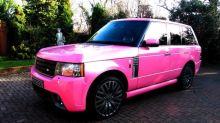 Katie Price's 'Barbie' pink Range Rover up for sale