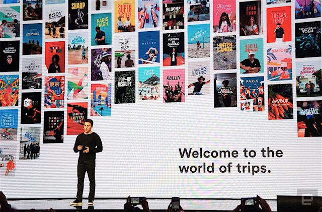 Browse Airbnb's vacation add-ons from your desktop