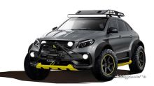 TopCar's Mercedes-AMG GLE Coupe Inferno 4x4*2 gushes Jurassic Park vibes
