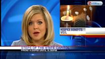 Vigil at state Capitol to protest hospice cuts