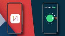 iOS 14 vs Android 11: pode copiar, só não faz igual