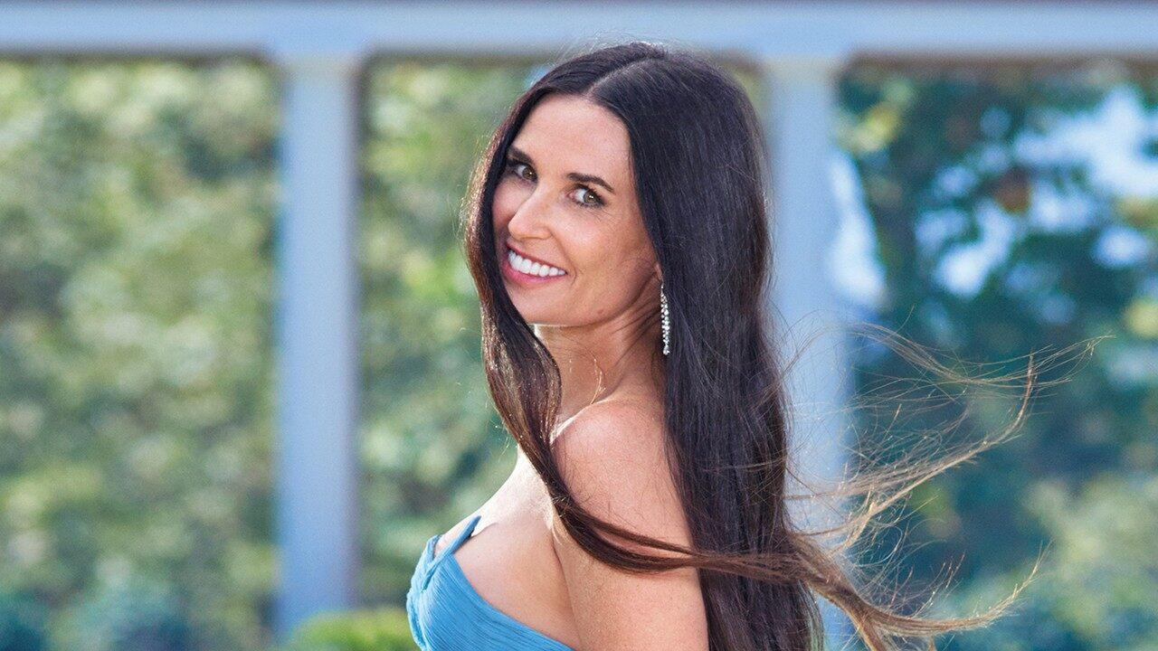 Demi Moore, 56, Just Posed Naked For Harpers Bazaar