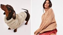 Now you can buy matching jumpers for you and your dog