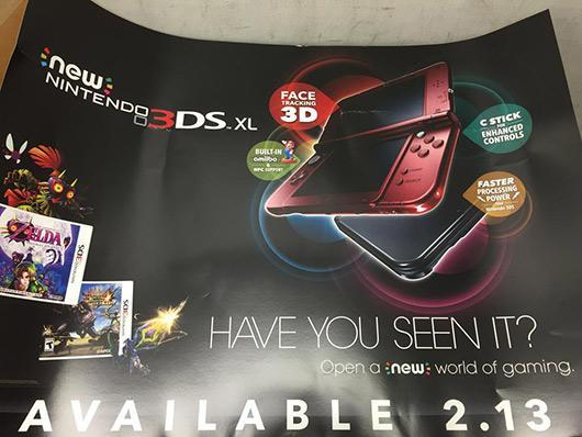 Rumor: New 3DS reaches North America next month