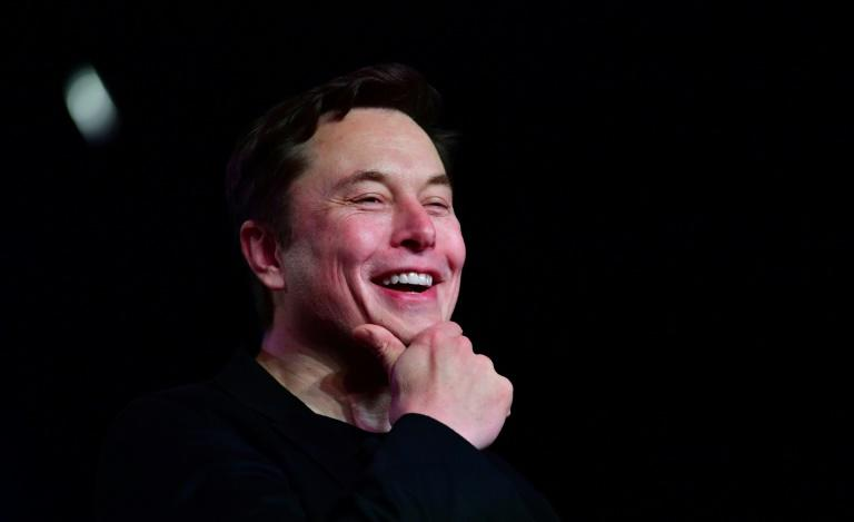 """Aliens built the pyramids obv,"" Musk had tweeted, picking up on a theme popular with conspiracy theorists and kicking off a predictable flood of global replies ranging from light-hearted to furious (AFP Photo/Frederic J. BROWN)"