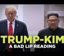 Bad Lip Reading of Trump-Kim summit is more believable than what really happened