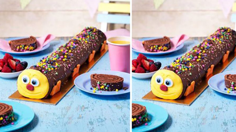 PSA: Asda is launching a one-and-a-half-foot long caterpillar cake
