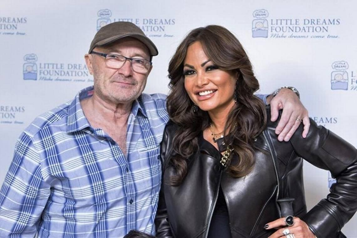 Phil Collins wants his ex-wife turned live-in girlfriend to vacate his Miami mansion