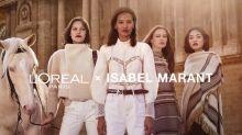 Necesitamos URGENTEMENTE la colección de maquillaje L'Oréal Paris x Isabel Marant
