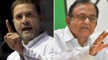 Congress Never Said It Wants Rahul Gandhi as PM: Chidambaram
