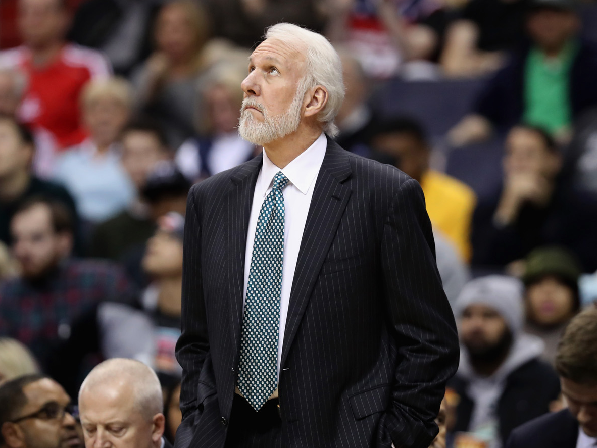 Gregg Popovich gave a great answer on how winning helps a ...