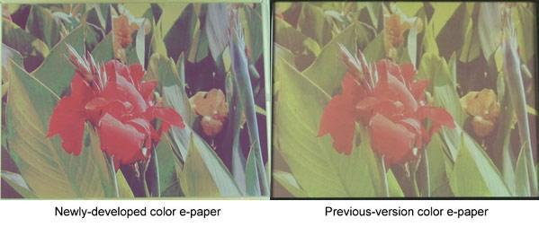 Fujitsu breathes new life into color e-paper: brighter, faster, lovelier