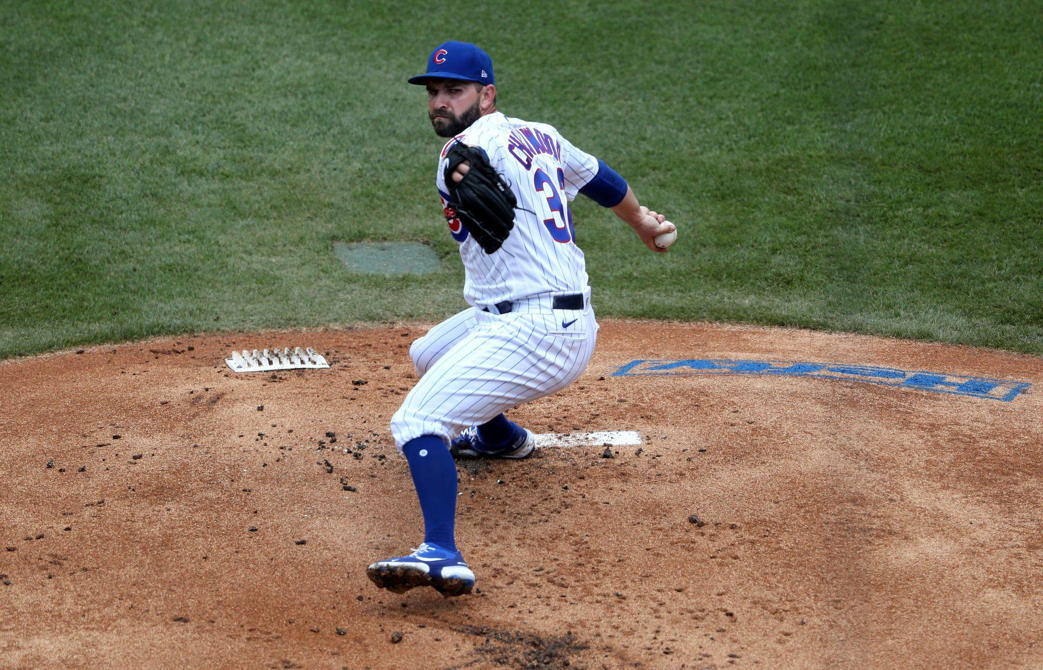 Tyler Chatwood's 6 innings of 3-hit ball vaults the Cubs to a 9-1 win over the Brewers