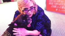 Carrie Fisher's Dog Gary is Stealing the 'Star Wars' Spotlight