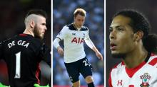Gossip: Man Utd 'will let De Gea leave', Eriksen linked with Barcelona, Liverpool 'target £50m Van Dijk'